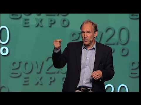 """Gov 2.0 Expo 2010:   Tim Berners-Lee, """"Open, Linked Data for a Global Community"""""""