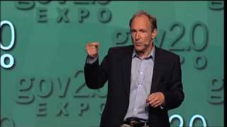 "Gov 2.0 Expo 2010:   Tim Berners-Lee, ""Open, Linked Data for a Global Community"""