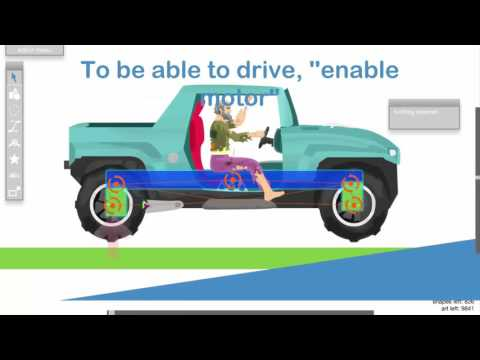 Car Suspension - Happy Wheels Tutorial