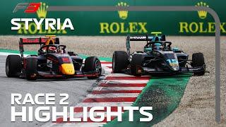 F3 Race 2 Highlights   2020 Styrian Grand Prix