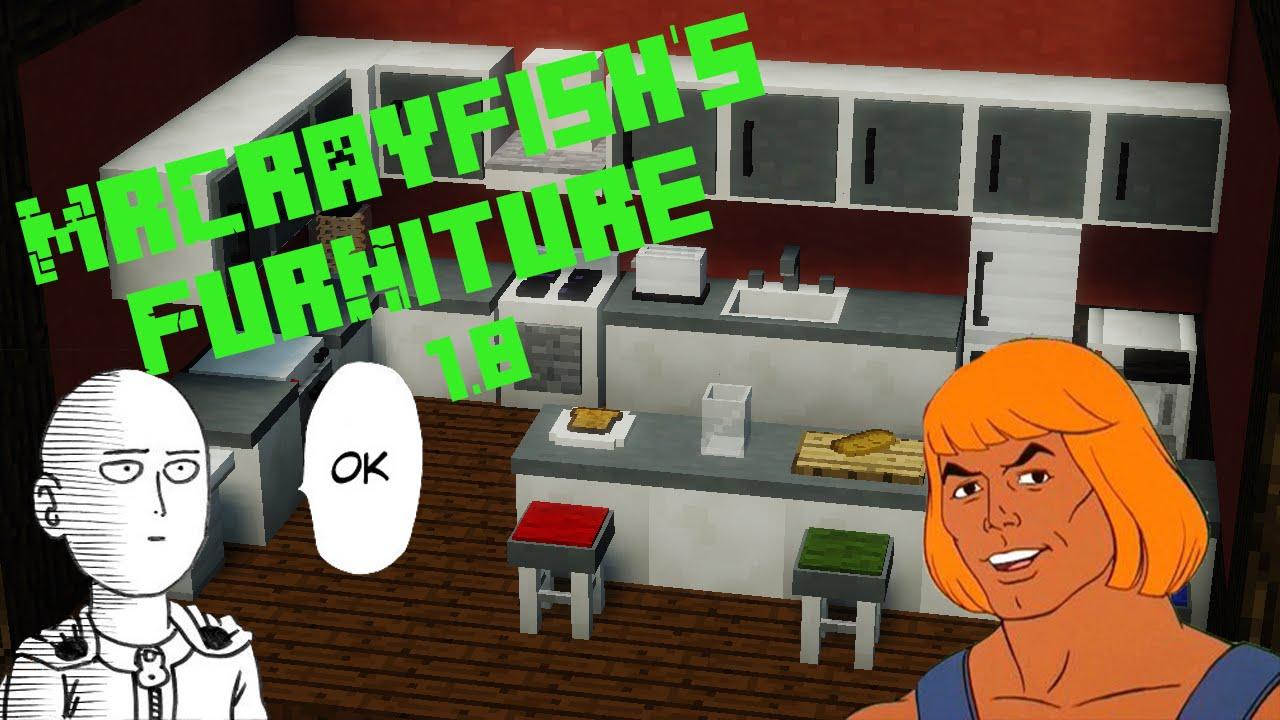 mr crayfishs furniture mod 1.8