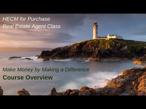 Real Estate Agent Reverse Purchase Class - Course Overview