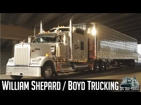 william-shepard-/-boyd-trucking---rolling-cb-interview™