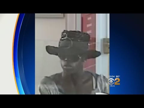 Bank Robber Dresses As Woman