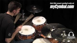sabian 17 hhx evolution effeks crash cymbal 11711xeb 1053113w
