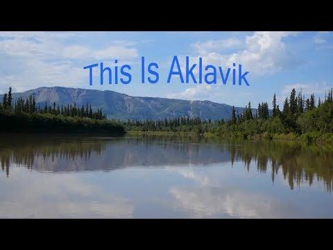 This is Aklavik, Northwest Territories