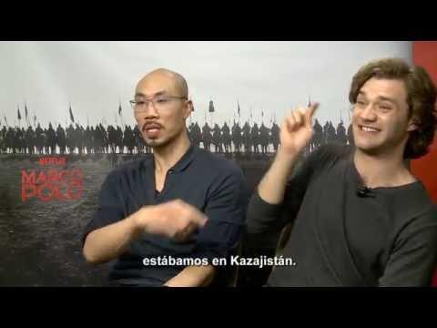 Entrevista a Lorenzo Richelmy y Tom Wu  Marco Polo