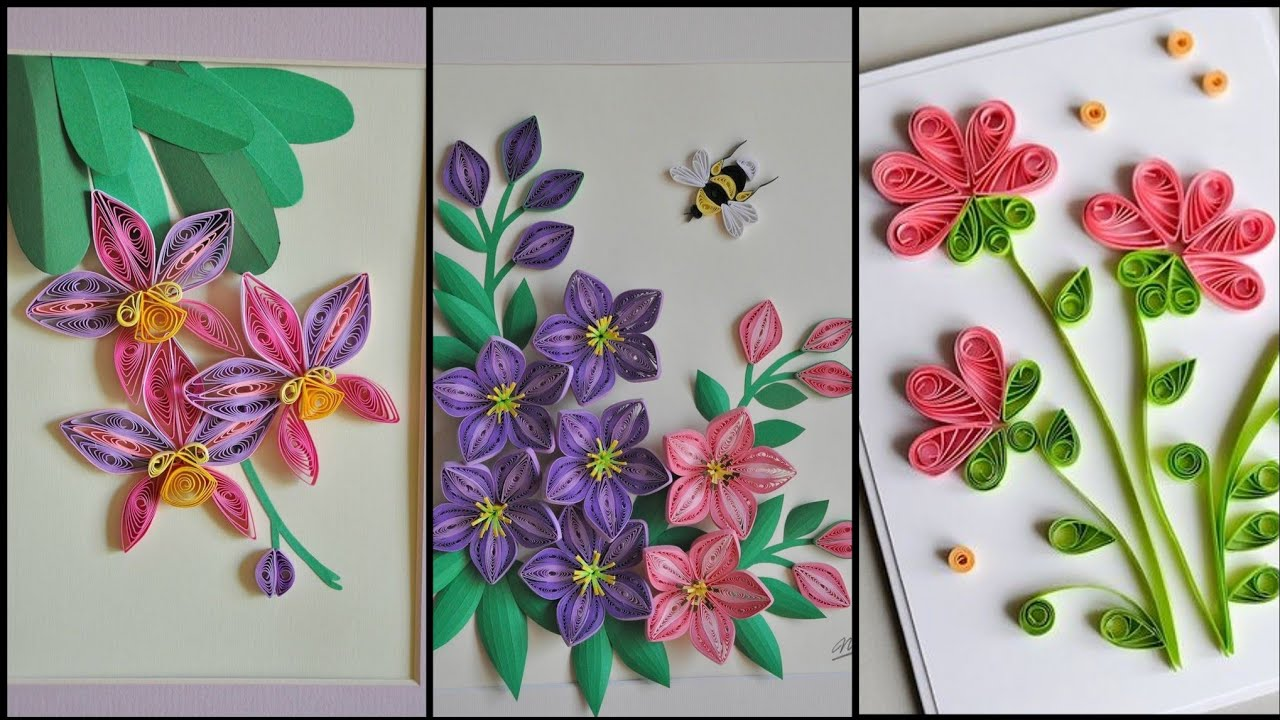 69 amazing paper quilling card ideas  coolest greeting