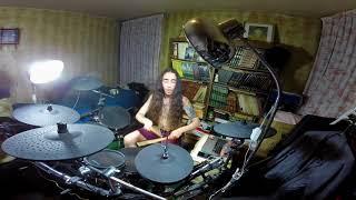 Скачать NIGHTWISH Planet Hell Drum Cover On Alesis Strike Pro