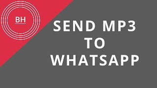 [NEW] how to send mp3 files to whatsapp on iphone without jailbreak