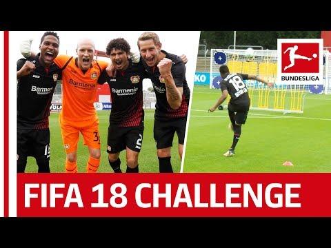 Leverkusen Go All Samba - EA Sports FIFA 18 Bundesliga Free Kick Challenge