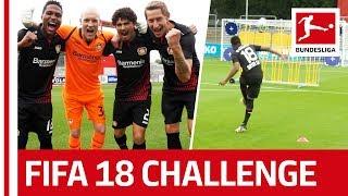 Leverkusen Go All Samba - EA Sports FIFA 18 Bundesliga Free Kick Challenge thumbnail