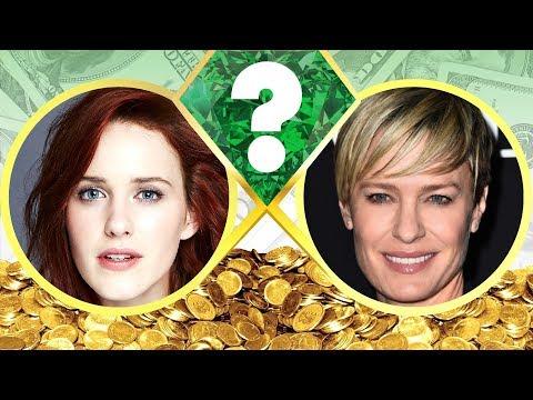 WHO'S RICHER?  Rachel Brosnahan or Robin Wright?  Net Worth Revealed! 2017