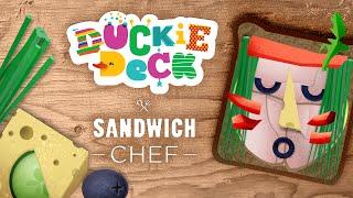 Duckie Deck Sandwich Chef - Interactive Sandwich Book for Kids