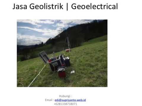 Jasa Geolistrik | Geo Electric Kabupaten Buton Utara-Buranga Sulawesi Tenggara