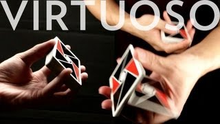 Card Flourish (Cardistry) Tutorials - Virtuoso : The Charlier One-Handed Cut