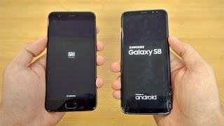 Samsung Galaxy S8 vs Xiaomi Mi6 - Speed Test! (4K)