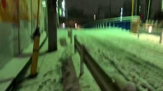 東京が大雪!!スカイツリー周辺 墨田区 本所吾妻橋 押上 周辺 平成30年1月22日