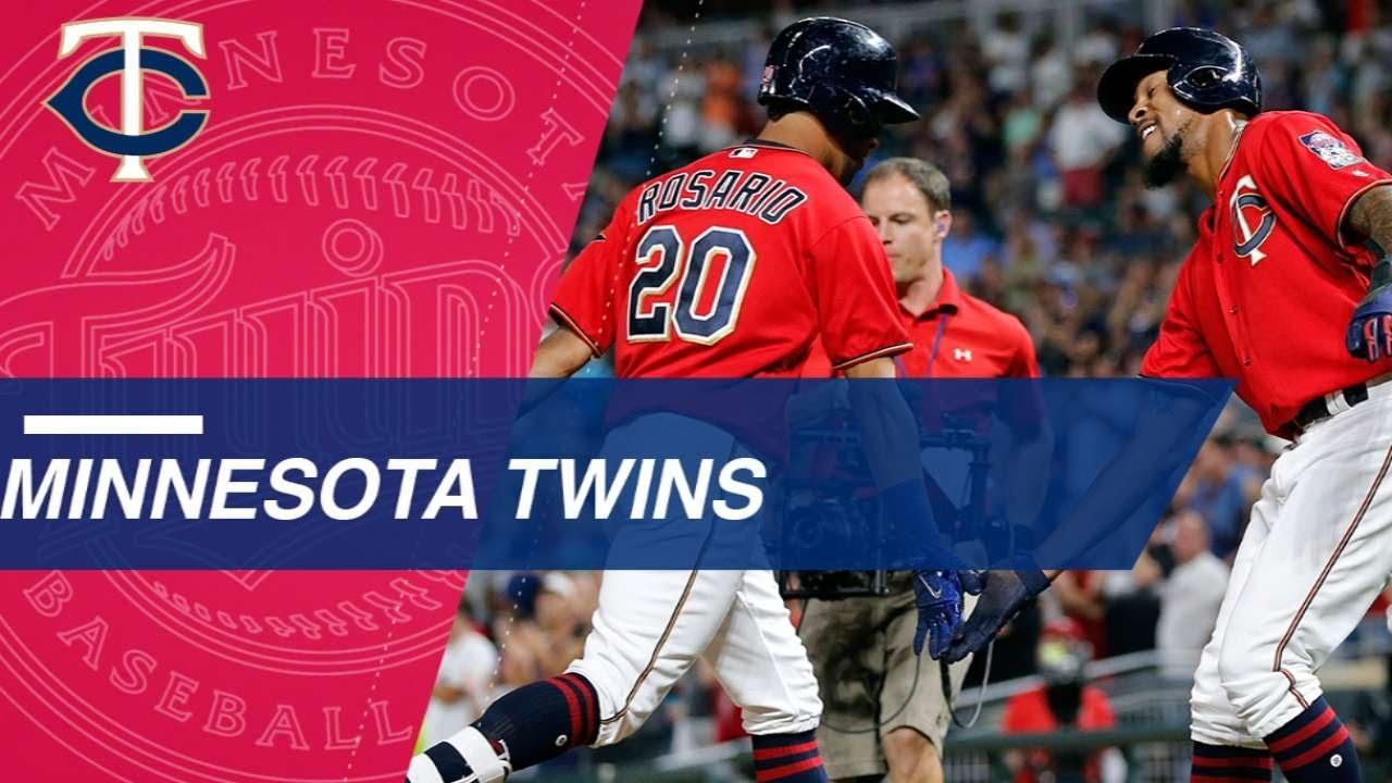 d5c801e8338 SD MIN  Twins set consecutive-inning home run record - YouTube