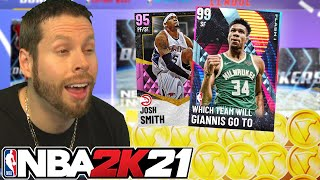 Opening Packs until I pass out NBA2K21