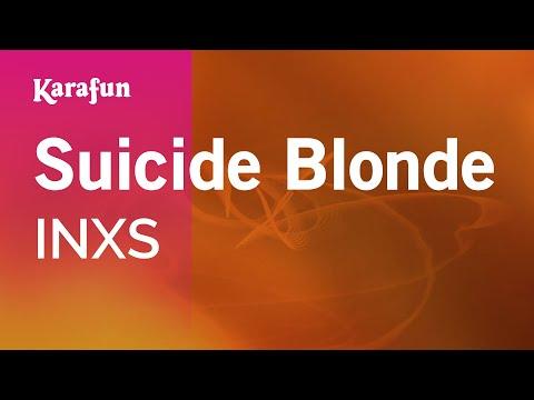 Karaoke Suicide Blonde - INXS *