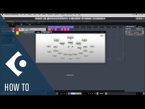 How to Use the Chord Track in Cubase LE AI Elements | Getting Started with Cubase LE AI Elements 9