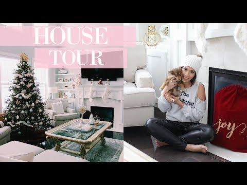 VLOGMAS HOUSE TOUR & HOME GOODS HAUL | Day 9 Franceska Garza
