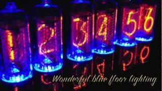 In-8 Blue Dream Nixie Tube Clock Demo #2