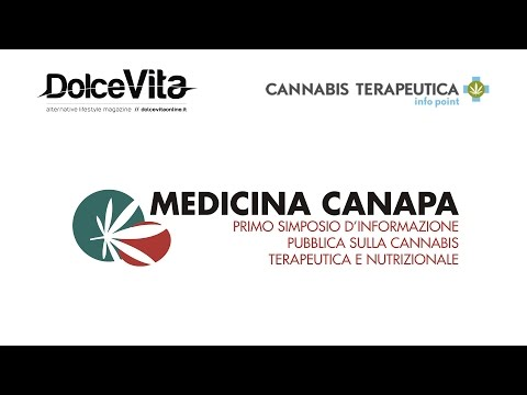 Medicina Canapa: simposio pubblico d'informazione sulla cannabis
