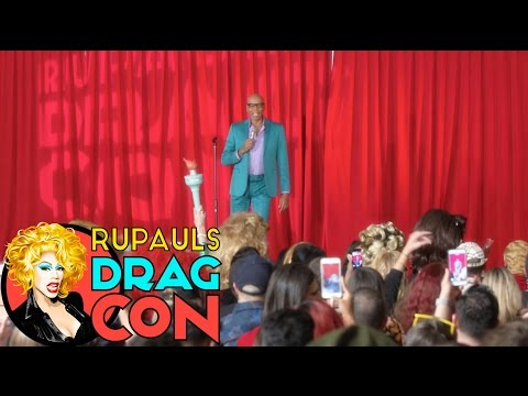 RuPaul Keynote at RuPaul's DragCon 2017