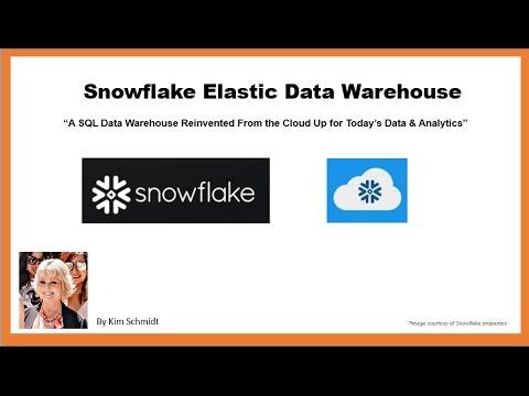 Setting Up Snowflake Elastic Data Warehouse SaaS AWS Marketplace