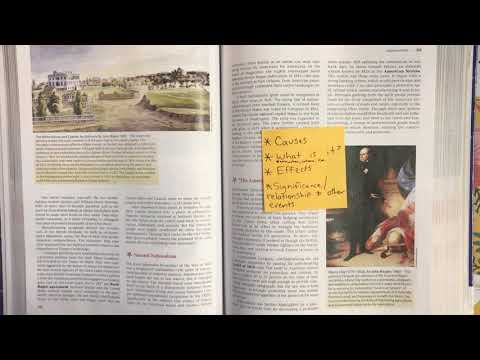 How To Read Your APUSH Textbook - Chapter 12 American Pageant
