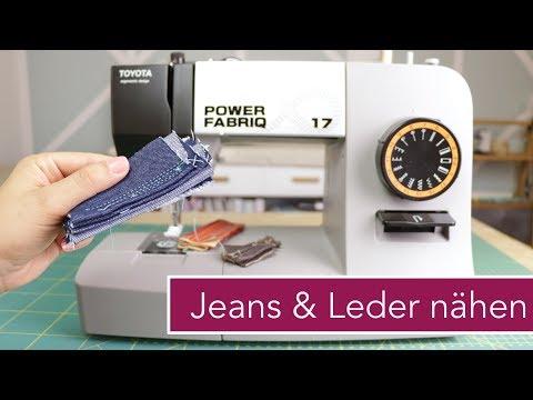 Wie viele Lagen schafft diese Nähmaschine? SPECIAL: Leder Nähen | VERLOSUNG