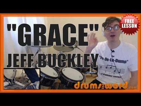 ★ Grace (Jeff Buckley) ★ FREE Drum Lesson | How To Play Drum BEAT (Matt Johnson)