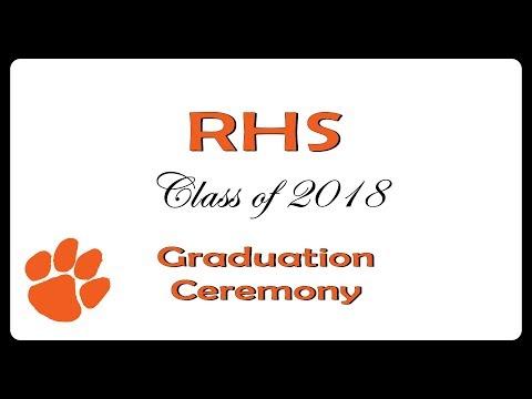 2018 Rosman High School Graduation
