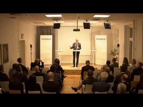 Stefan Kristiansson på Frivärlds Boklansering