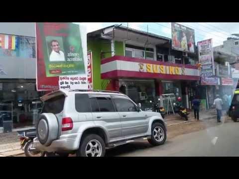 Colombo to Bolgoda car ride
