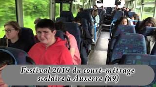 Festival 2019 du court-métrage scolaire à Auxerre (89)