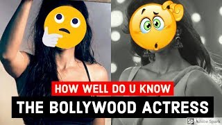 😍WHO AM I CHALLENGE😍 (ACTRESS VERSION) | Bollywood Fun Quiz Questions with Answers Video