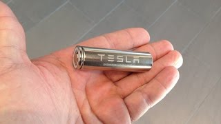 Tesla's new 2170 battery cell thumbnail