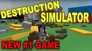 Destruction Simulator ~ NEW #1 GAME on ROBLOX!!!!