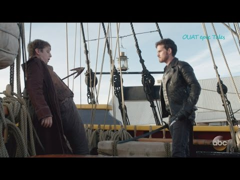 "Once Upon A Time 6x04 Hook Saves Belle - Rumple Stops Hyde  ""Strange Case"" Season 6 Episode 4 HD"