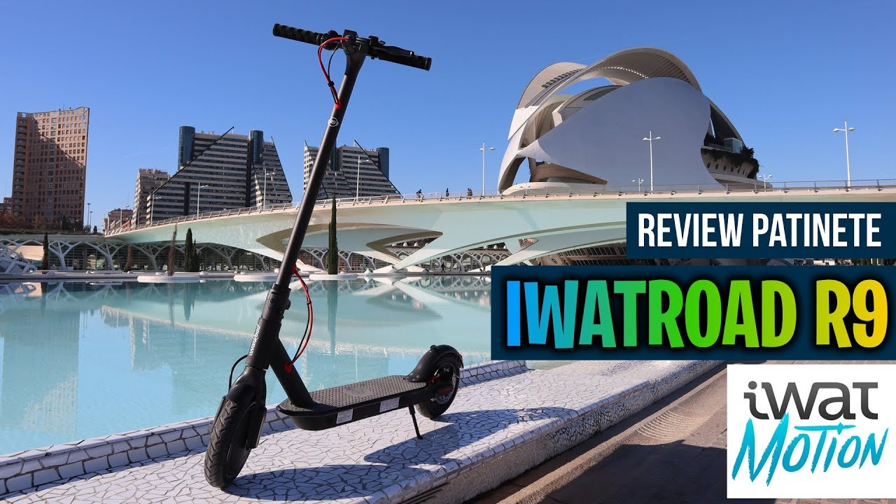 Review patinete electrico iwatroad r9 iwatmotion marc marquez youtube - Patinete electrico marc marquez ...