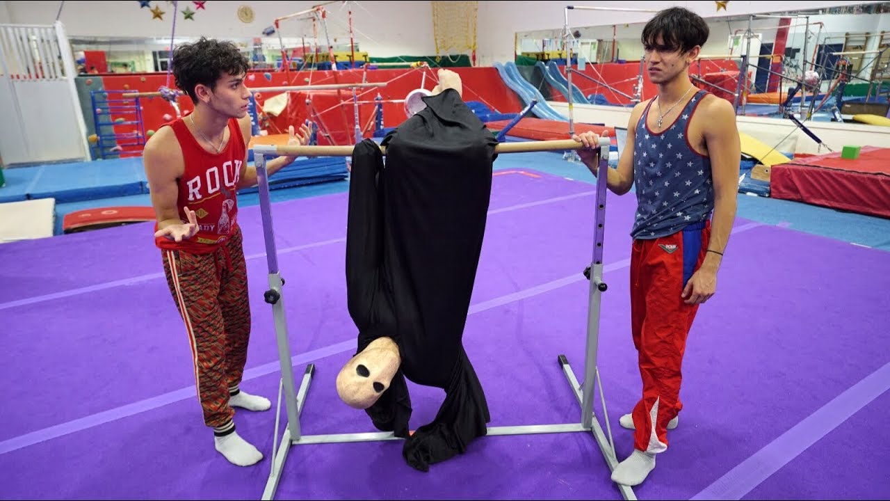 gymnastics-with-scary-monster