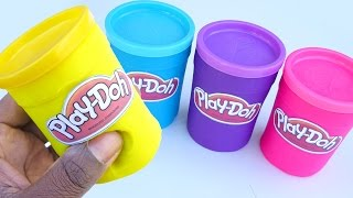 DIY How To Make Play Doh Mighty Toys Modelling Clay Learn Colours