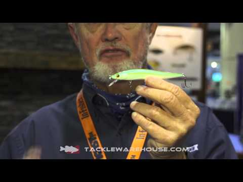 Luck-E-Strike RC STX Floating Jerkbait With Rick Clunn | ICAST 2014