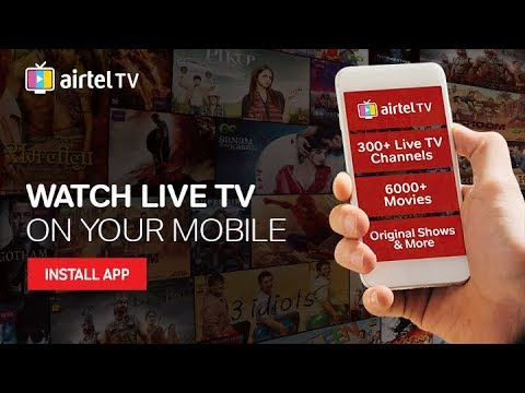 Airtel TV : Watch Live Cricket on your Mobile - YouTube