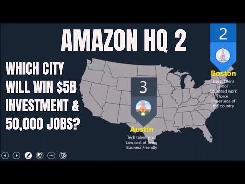 amazon-new-headquarters-2018- -which-city-will-boom?