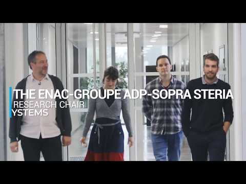 The ENAC - Groupe ADP - Sopra Steria - Research Chair on Drone systems (Short version)