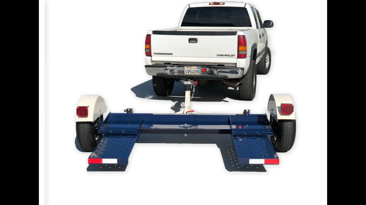 Car Tow Dolly - Hauls 80 inch wide Vehicles- 4,900 pound capacity with  Swivel Pan  #towdollyforsale